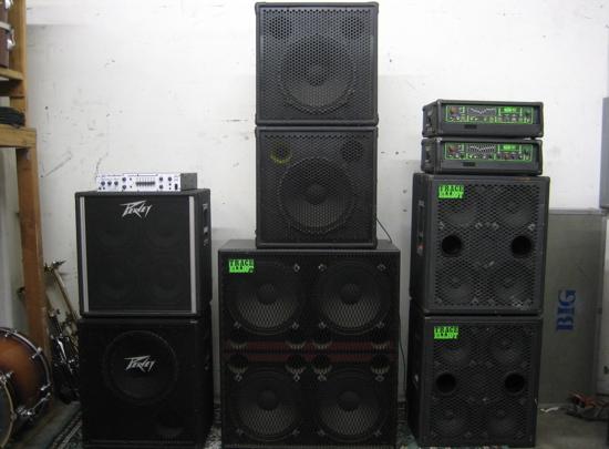4 X 15 Bass Cabinet - Cabinets Ideas